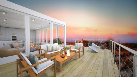 Beach House - Garden - by sierrasreed