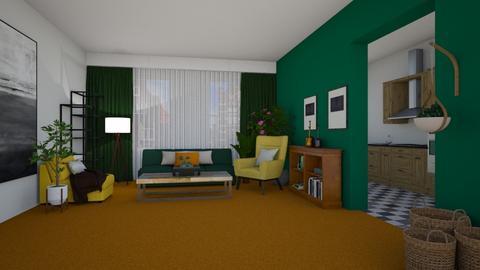 Orange Carpet - by Agata_ody
