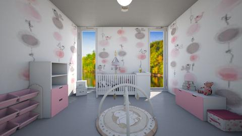 Maison Lily Chambre Lindsay - Kids room - by Laura DROUHARD_58