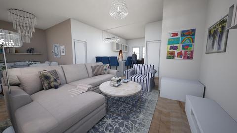caroniko paredes claras - Country - Living room - by viopio