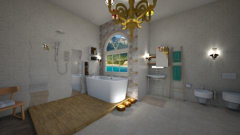 Bathroom Lux - Eclectic - Bathroom - by mmt_regina_nox
