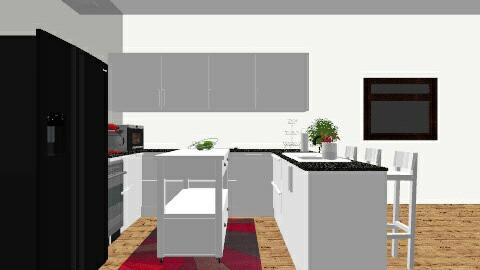 1st Floor of Modern Reno - Modern - Kitchen - by H_RAE_J