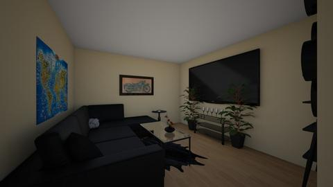 dark theme - Living room - by kayleijade