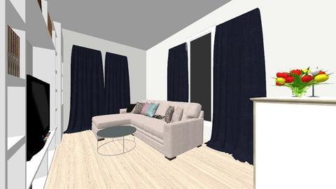 Living 1 - Living room - by GabrielaMA