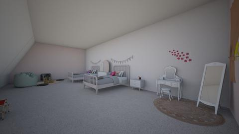 girls room - Kids room - by s _ i _ j