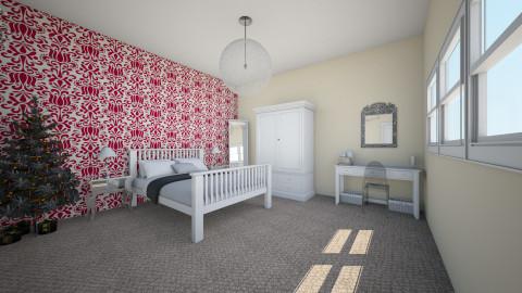 emilys bedroom plan - Modern - Bedroom - by Lottie_taylor