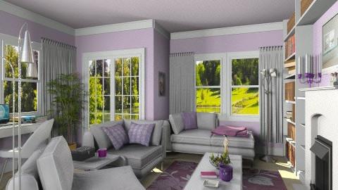 Marthas Private Boudoir - Modern - Living room - by Bibiche