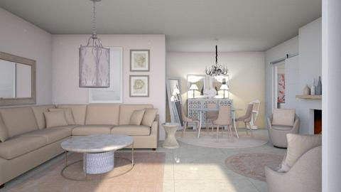 Soft focus - Living room - by augustmoon