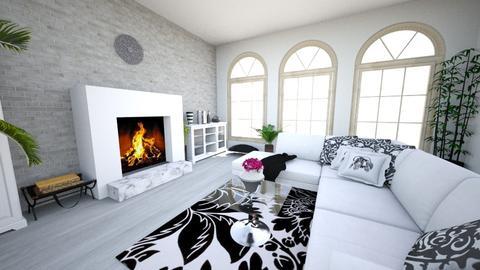 blackandwhite - Modern - Living room - by Alexa01