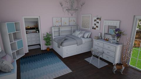 Elegant Bedroom - Bedroom - by katherinehartman