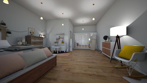 bedroomandonsuitebathroom - Modern - by lolafenton
