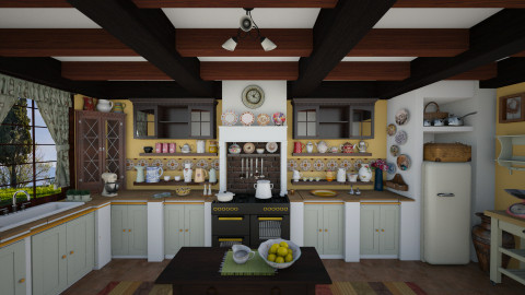cucina - Rustic - Kitchen - by lollouio