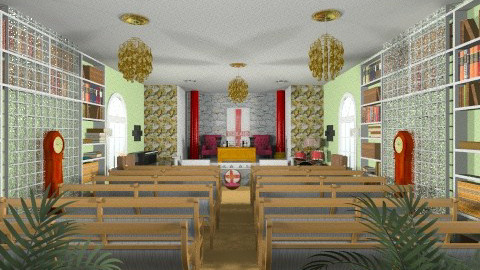 CHURCH OF YAHSHAU - Classic - Office - by JEN GRANT FRISKIELISKIE