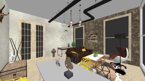 industrial room final 1 - by anamariadumitrascu