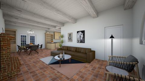 Rancho living Lecco - Living room - by zpapyan