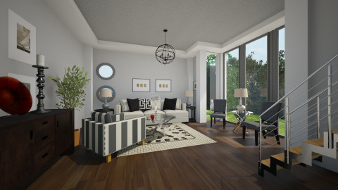 Sitting Room 2 - Country - Living room - by PomBom