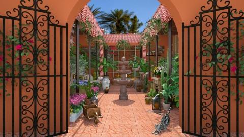 Design 221 Hacienda Nursery - Garden - by Daisy320