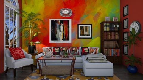 Eclectic living time yay - Living room - by ashpashly