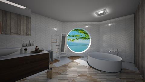 Master Bathroom - Minimal - Bathroom - by orandorango