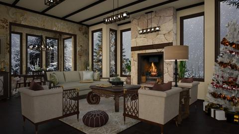 Design 390 Home for the Holidays - Living room - by Daisy320