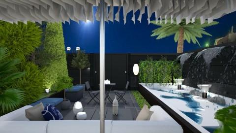 courtyard - by ritsa