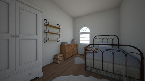 Farmhouse - Bedroom - by cassidy15