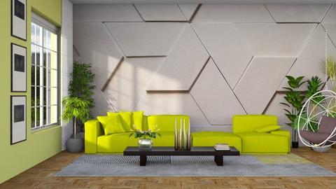 GEOMETRICO - Living room - by Aymee Estrella