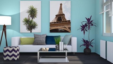 Travelers Domain  - Modern - Living room - by Gurns