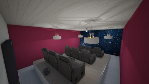 Cinema at Home  - by Mikayla Ryann