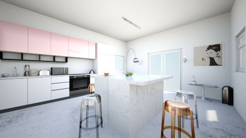 Room for five - Modern - Kitchen - by ninazara1234