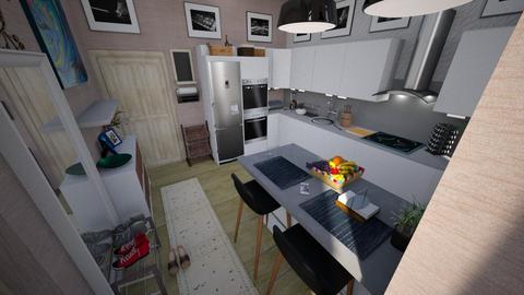 Sallay kitchen - Kitchen - by edDesign
