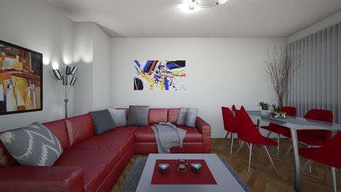 Valerie - Living room - by ivona_h