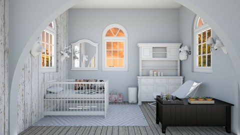 babyroom and bedroom - by Florence Verdin