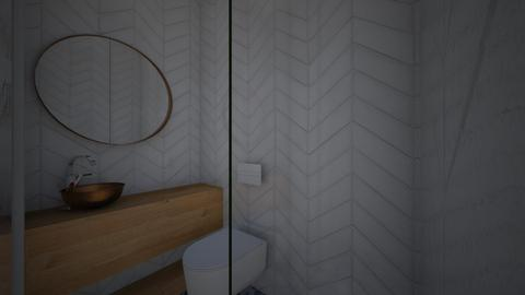 mini badkamer hotel - Bathroom - by maartjefijen