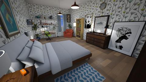 P - Bedroom - by Mona Noryo