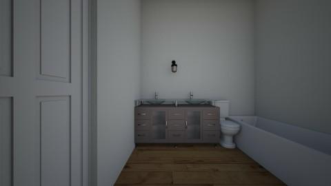 house bathroom - by cram