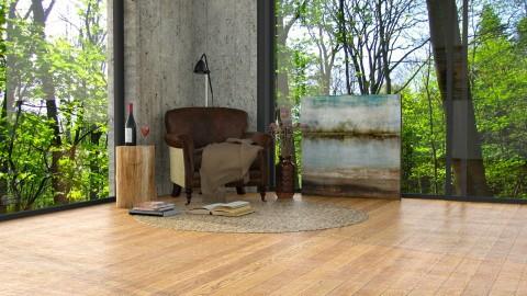 Casa na floresta - Living room - by Alecio