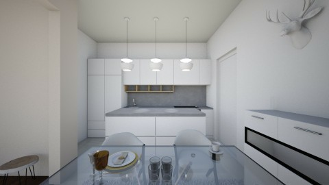 High Rise Apartment Pt 4 - Kitchen - by CatLover0110
