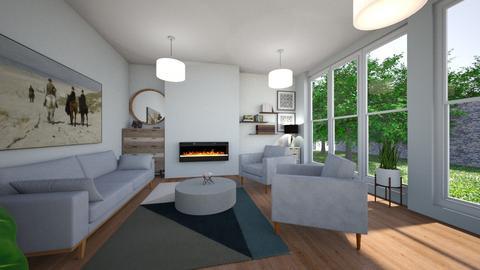 Mid Century Modern - Modern - Living room - by NikLaurayne
