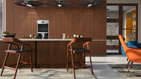 Breakfast__Bar - Kitchen - by ZuzanaDesign