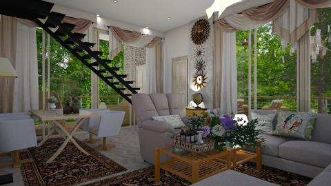 mechanism - Living room - by nat mi
