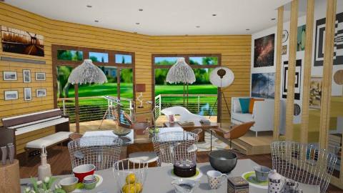 Retro Living - Retro - Living room - by Laurika