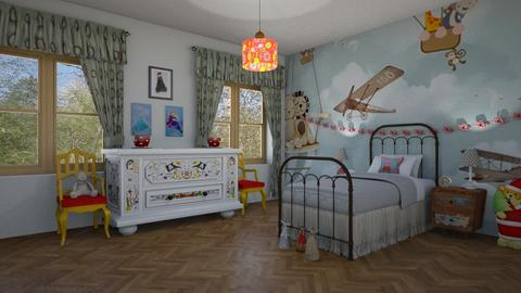 fairy tale  bedroom - by BortikZemec