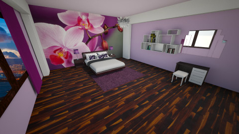 room 02 - Bedroom - by ivka3131