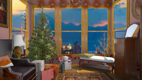 Christmas  - Classic - Living room - by shelleycanuck