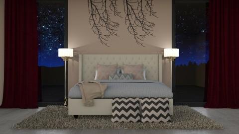 Symmetry Design - Modern - Bedroom - by oliinree12