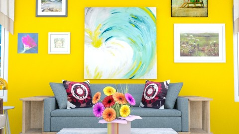 On Summer zoom - Classic - Living room - by fifi sefriyani