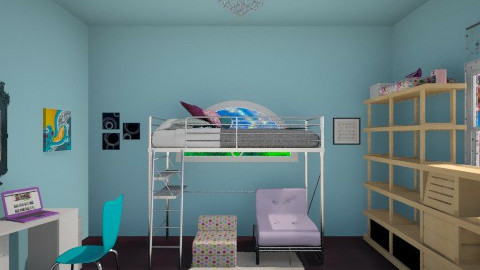 Girly Galore - Feminine - Bedroom - by ROAR