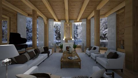 ready chalet 20 - Country - Living room - by Nick Burckhard
