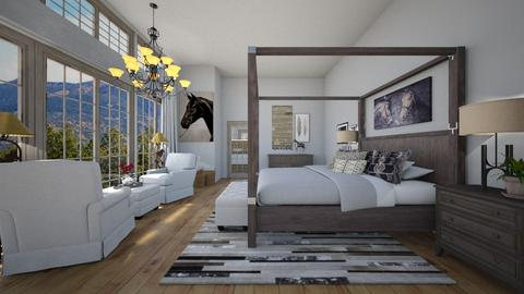 Horse in the Hay - Bedroom - by rickglassinteriors